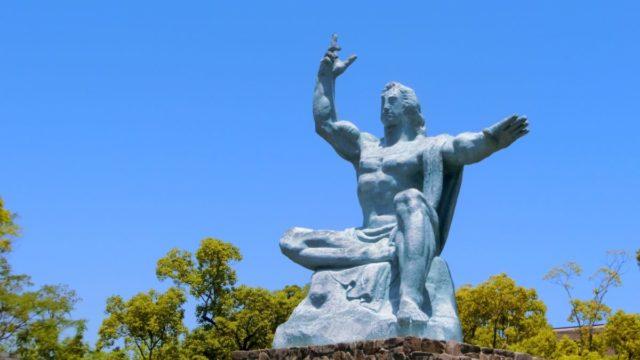 平成をイメージした平和祈念像